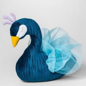 Pillowfort Peacock Throw Pillow